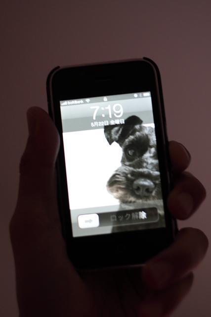iPhone 待ち受け
