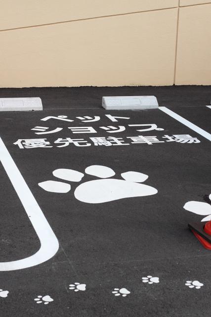 ペット優先駐車場