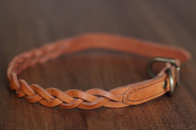 革製 首輪