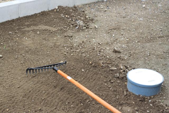 アメリカンレーキな庭作り